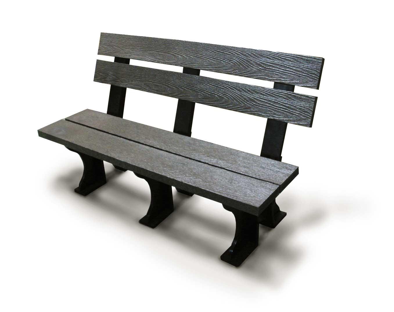 塑木长椅 diy 组合靠背式 休憩椅 公园椅 好印象 木制长椅 园林椅